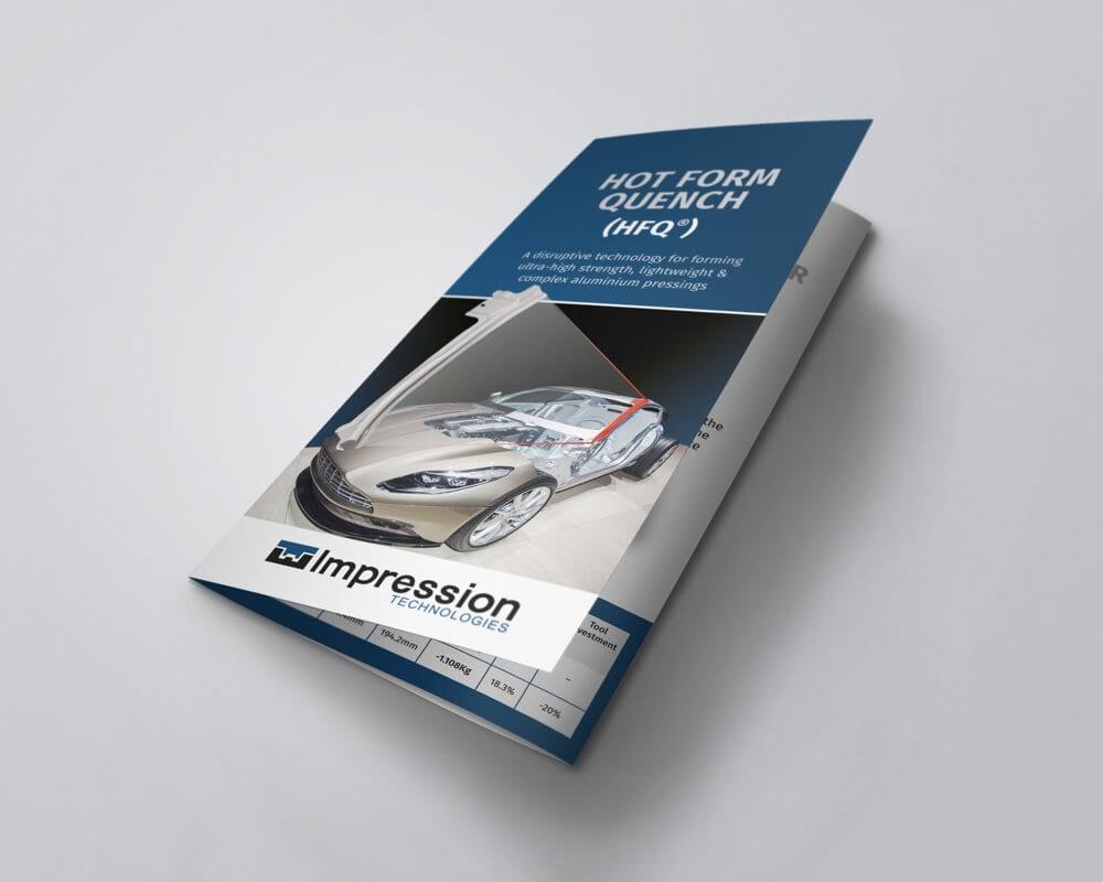 Leaflet design and leaflet printing
