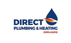 Direct Plumbing & Heating Logo Design