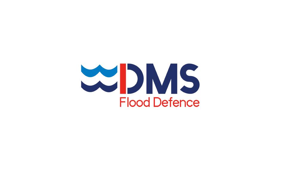 DMS Flood Defence Logo design