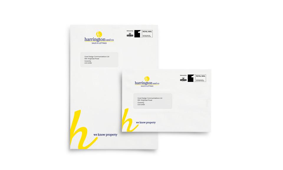 Harrington and Co C4 & C5 Window Envelopes