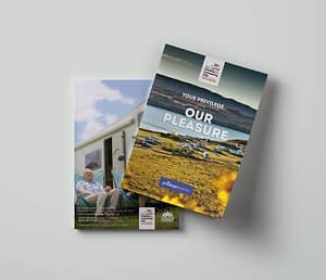 A5 Sales pack design and sales pack printing