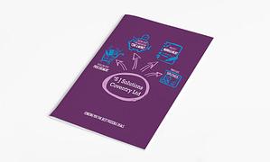 SJ Solutions Brochure design and brochure design printing
