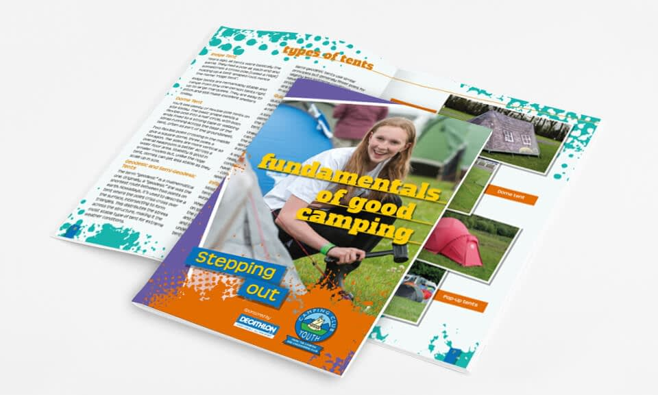 Brochure Design for The Camping & Caravanning Club