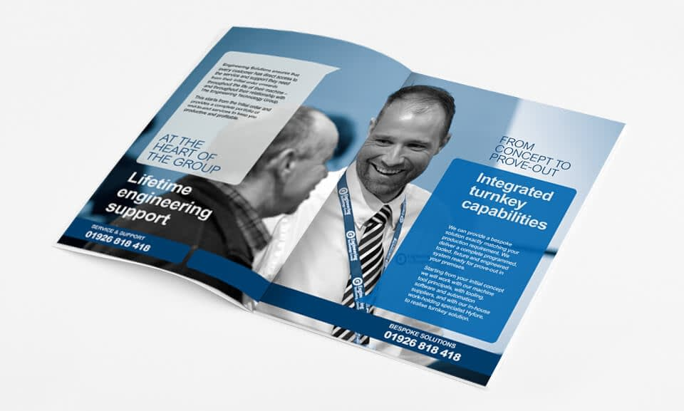 Brochure Design for Engineering Technology Group