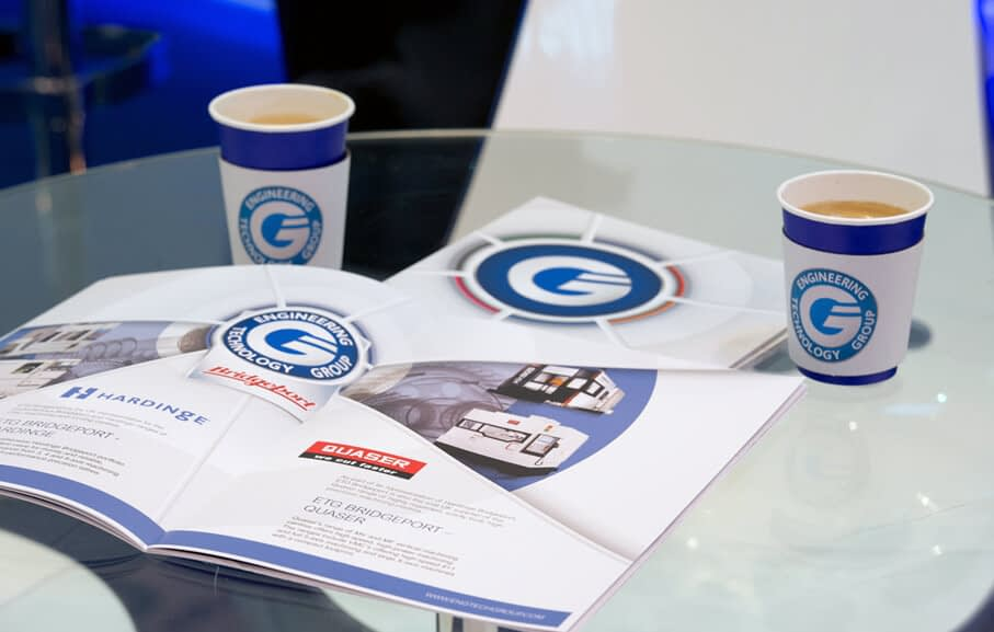 Photo of the Engineering Technology Group ETG corporate brochure