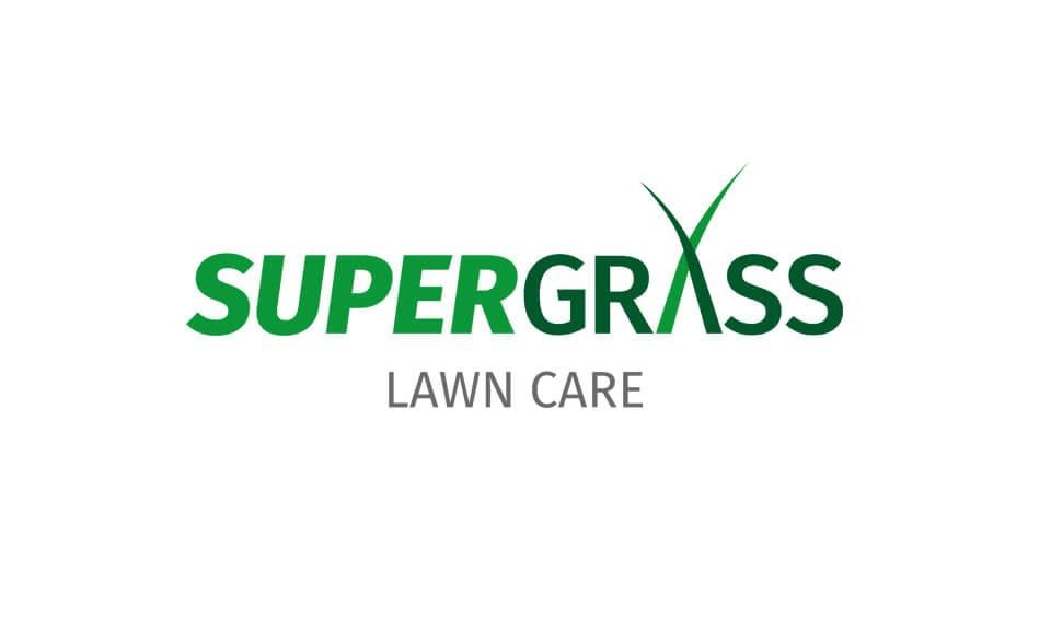 SuperGrass Logo Design