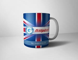 Brand Design for a promotional mug