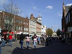 Current Nuneaton town centre image